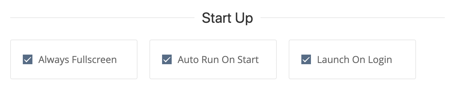 Automatically start your dashboard rotation when the machine starts