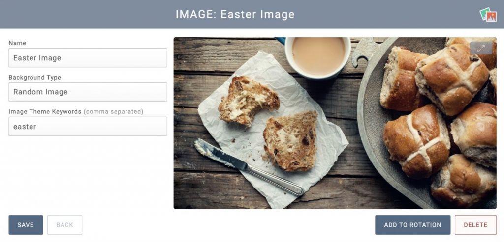 Display Random Images With Keywords